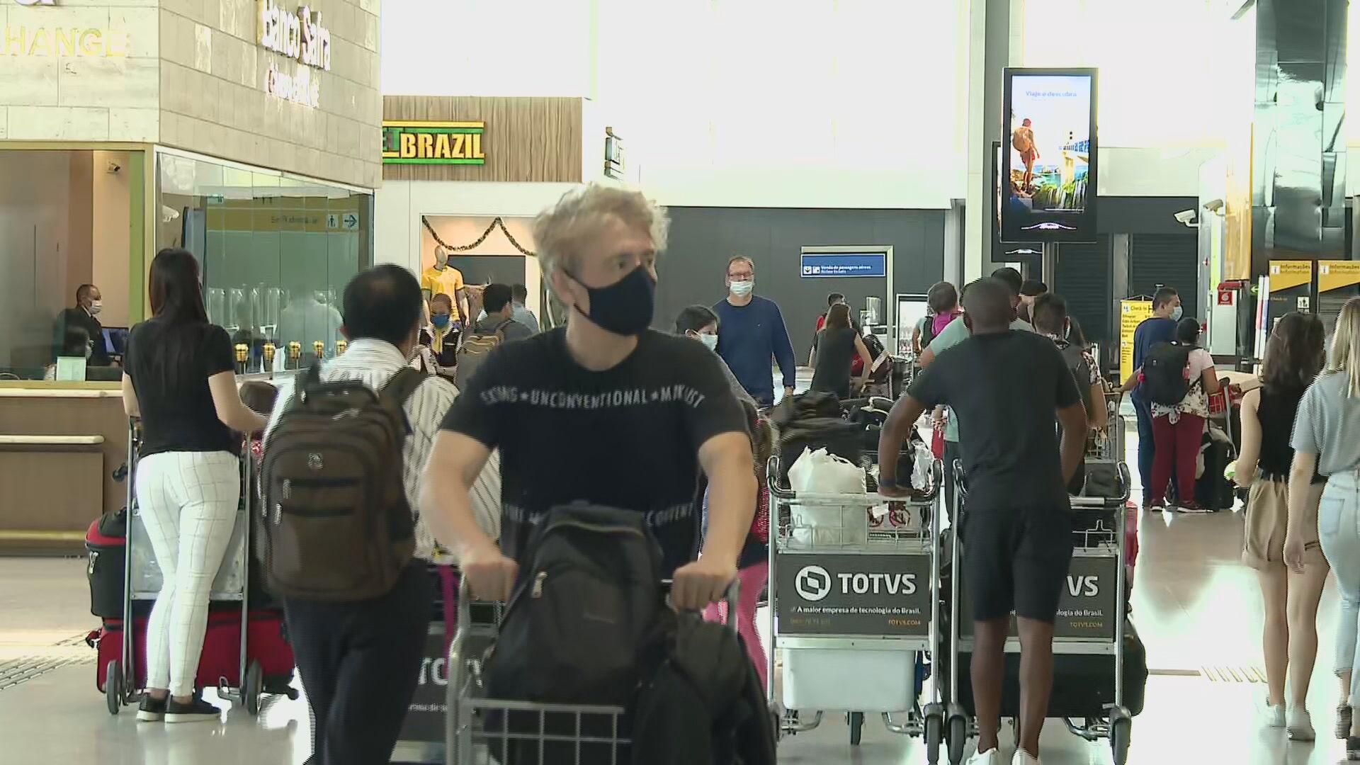 Portugal exige quarentena para passageiros vindos do Brasil por voos de conexão