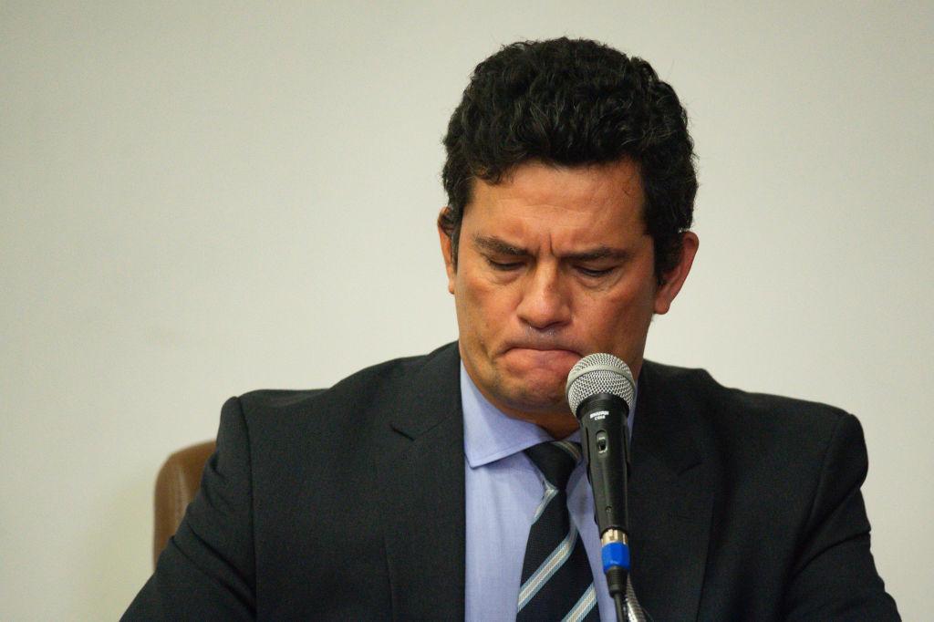 Ex-juiz e ex-ministro da Justiça, Sergio Moro