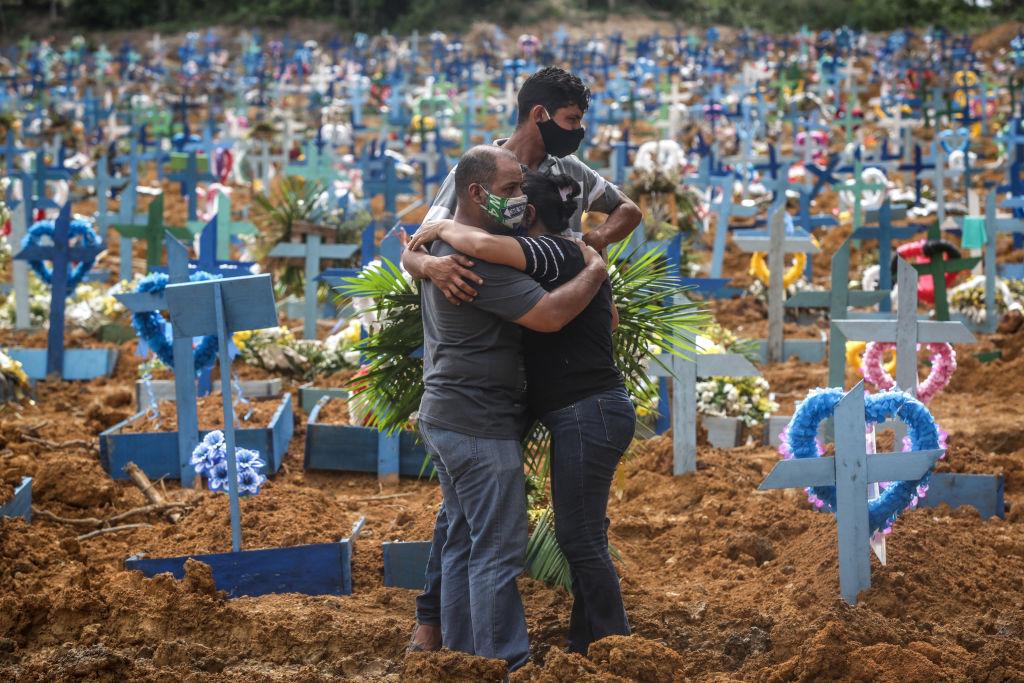 Vítimas da Covid-19 em Manaus