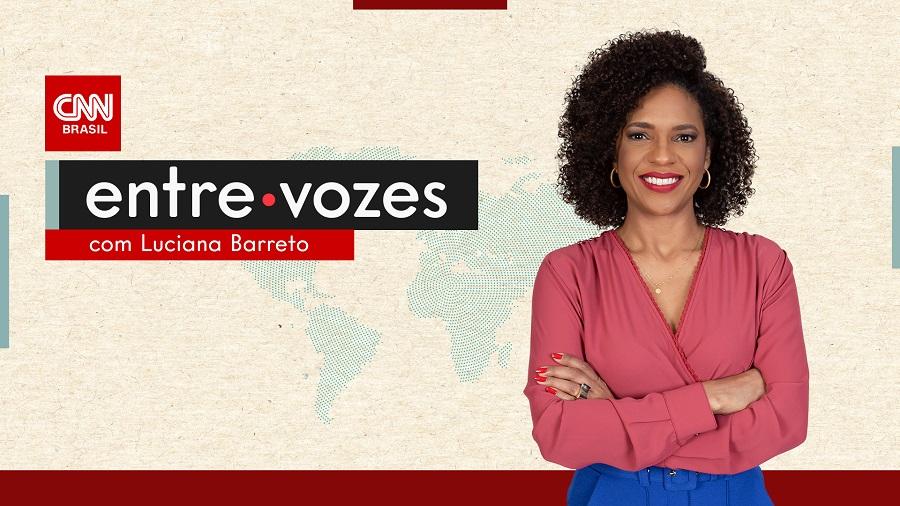 Podcast Entre Vozes, com Luciana Barreto