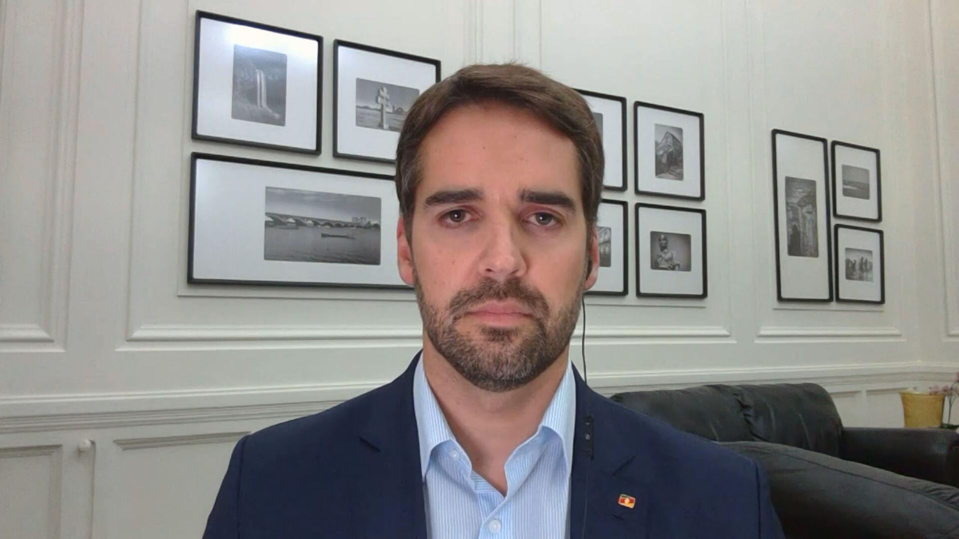 O governador do Rio Grande do Sul, Eduardo Leite (PSDB) (16.mar.2021)