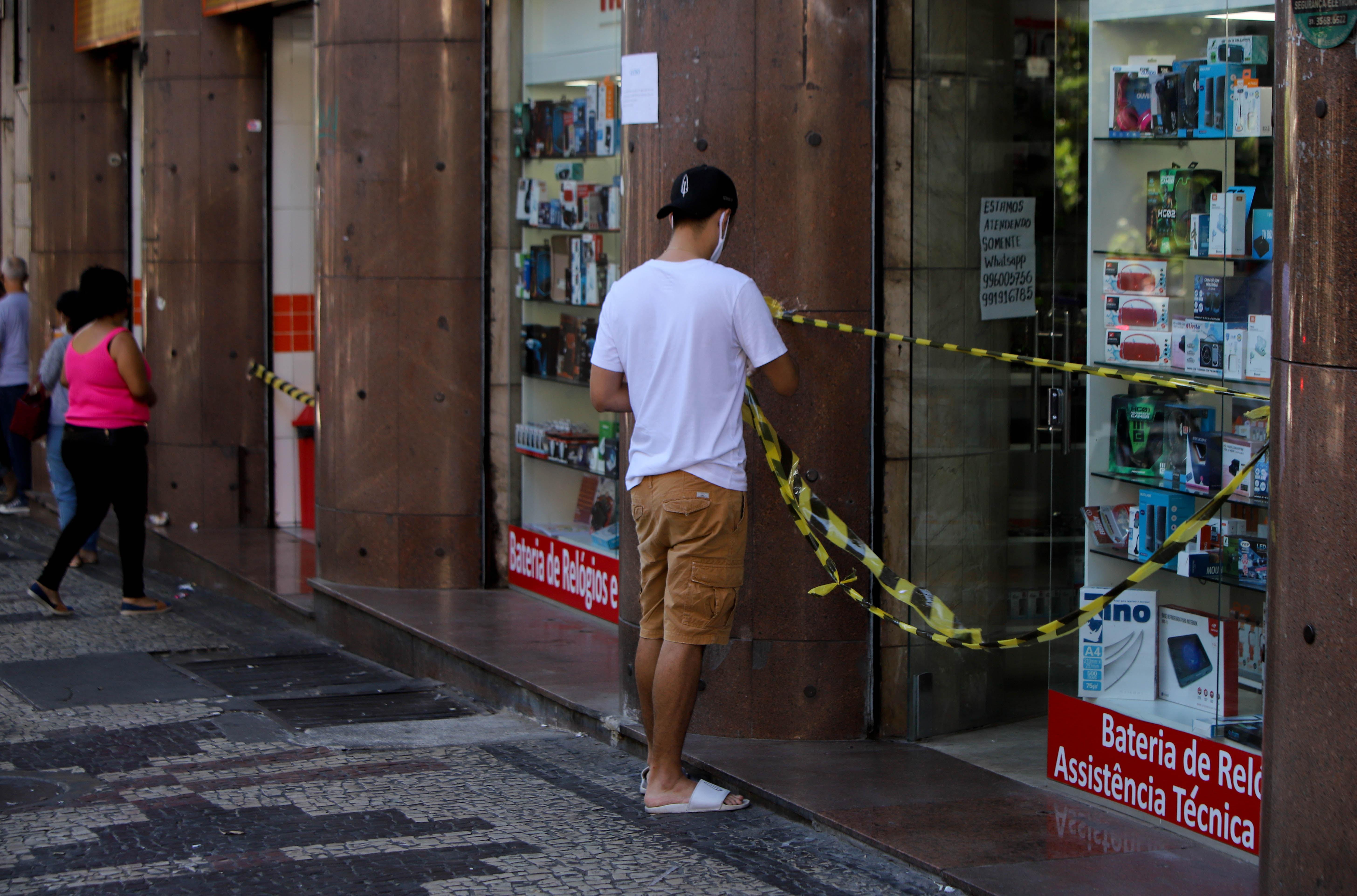 Belo Horizonte em meio à restrições por conta da pandemia