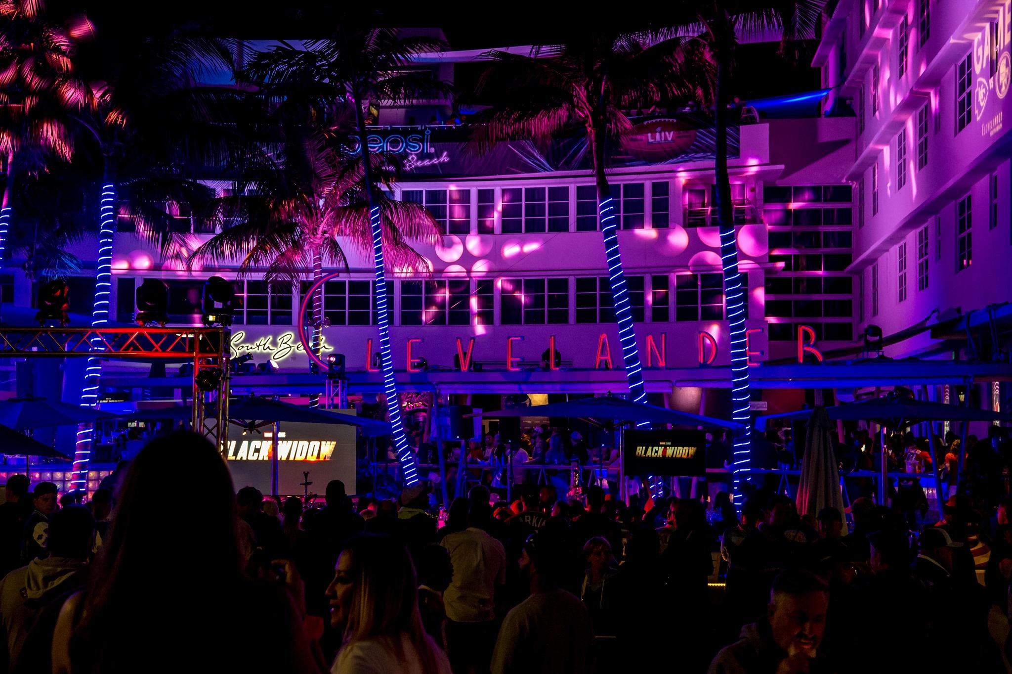 Clevelander South Beach, um dos hotéis mais icônicos de Miami Beach