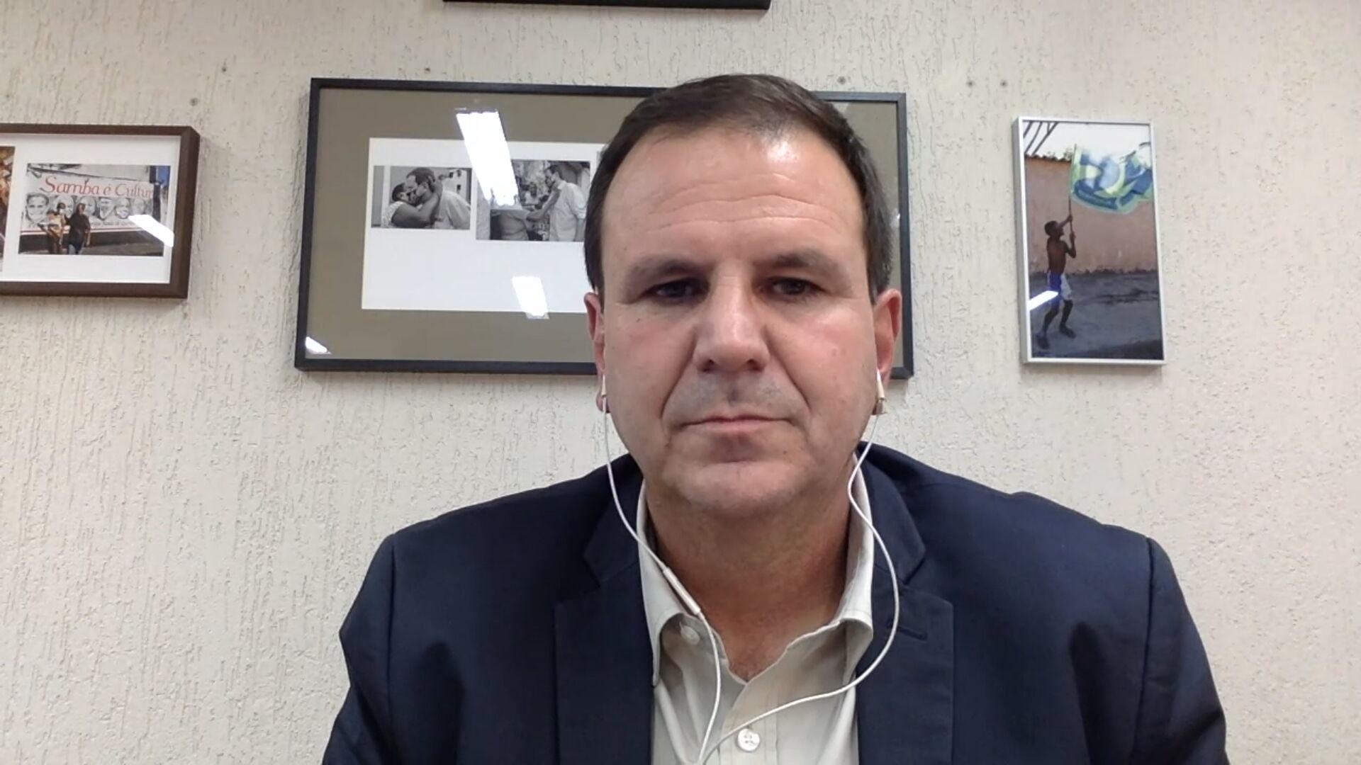 O prefeito do Rio de Janeiro, Eduardo Paes (DEM) (22.mar.2021)