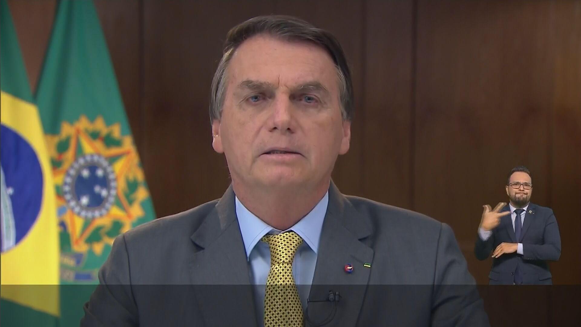 Pronunciamento do presidente Jair Bolsonaro (23.mar.2021)