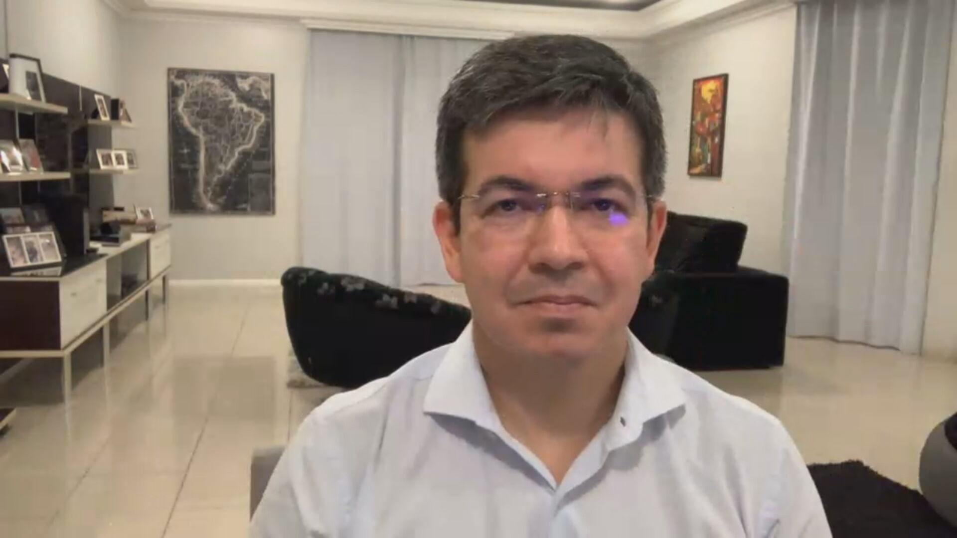 O senador Randolfe Rodrigues (REDE-AP) (23.mar.2021)