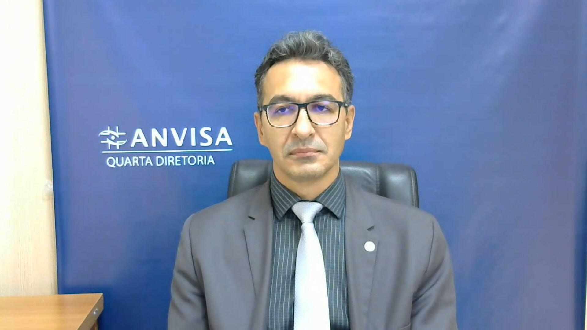 Romison Rodrigues Mota, diretor da Anvisa (25.mar.2021)