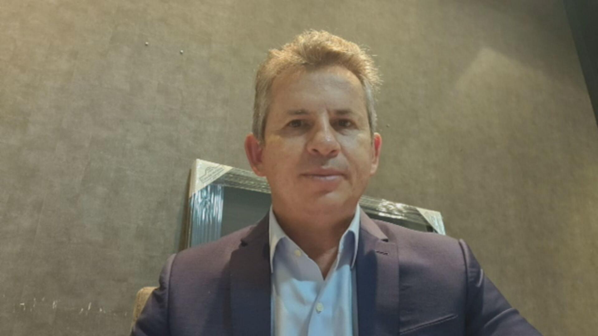 O governador do Mato Grosso, Mauro Mendes (DEM) (25.mar.2021)