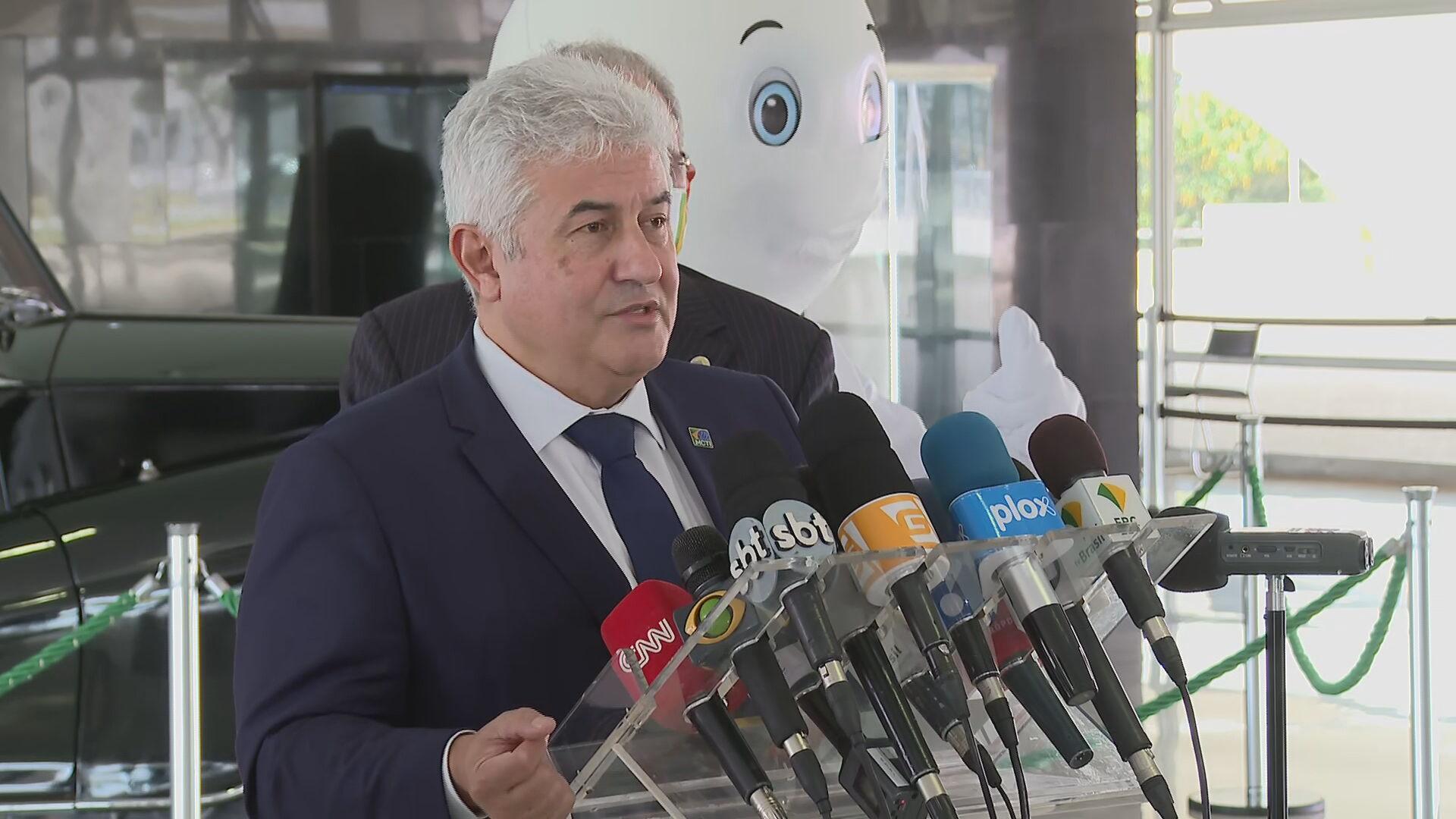 ministro da Ciência, Tecnologia e Inovações, Marcos Pontes