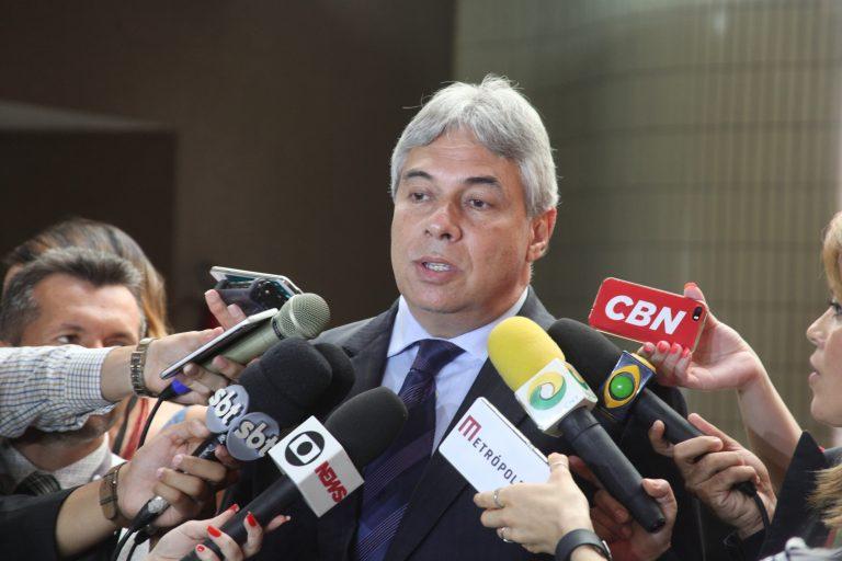 O presidente da Associação Médica Brasileira, Lincoln Lopes Ferreira