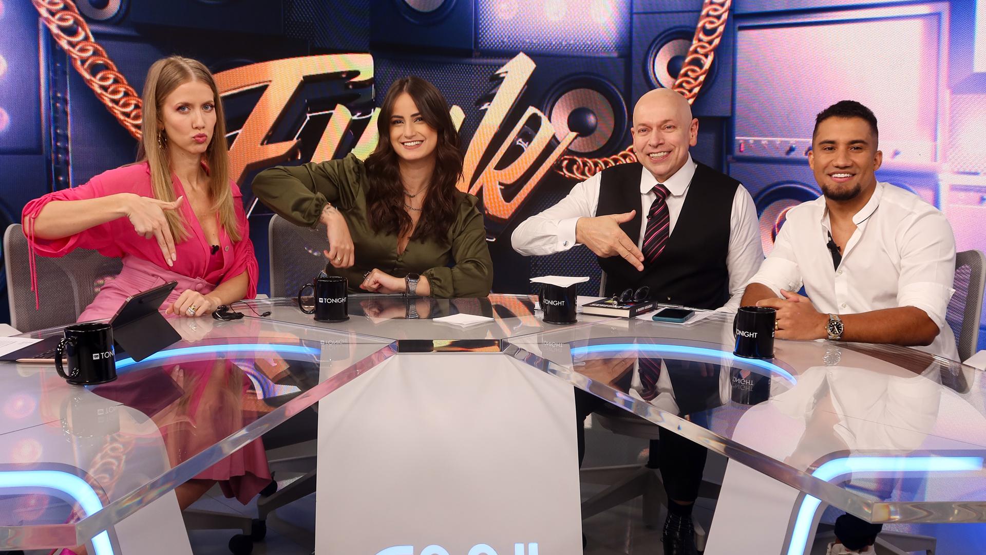 CNN Tonight, apresentado por MariPalma, Gabriela Prioli e Leandro Karnal