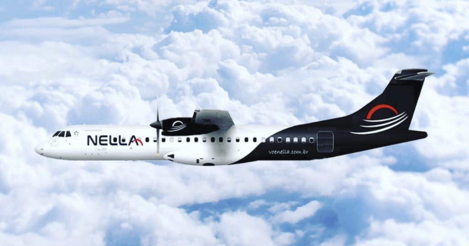 Avião da Nella Airlines