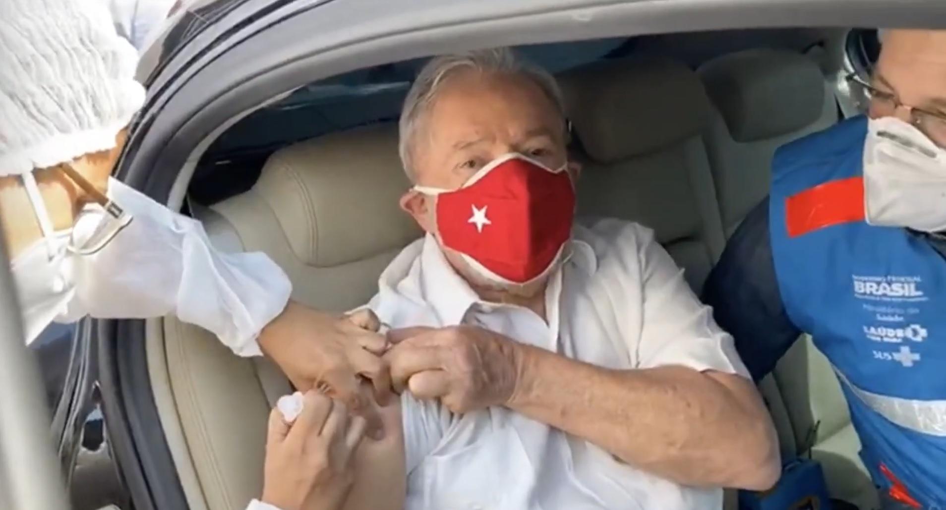 Lula Vacina Segunda Dose