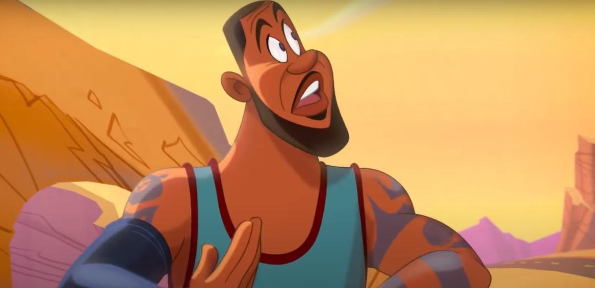 """Astro de basquete LeBron James ganhou versão animada no primeiro trailer de """"Spa"""