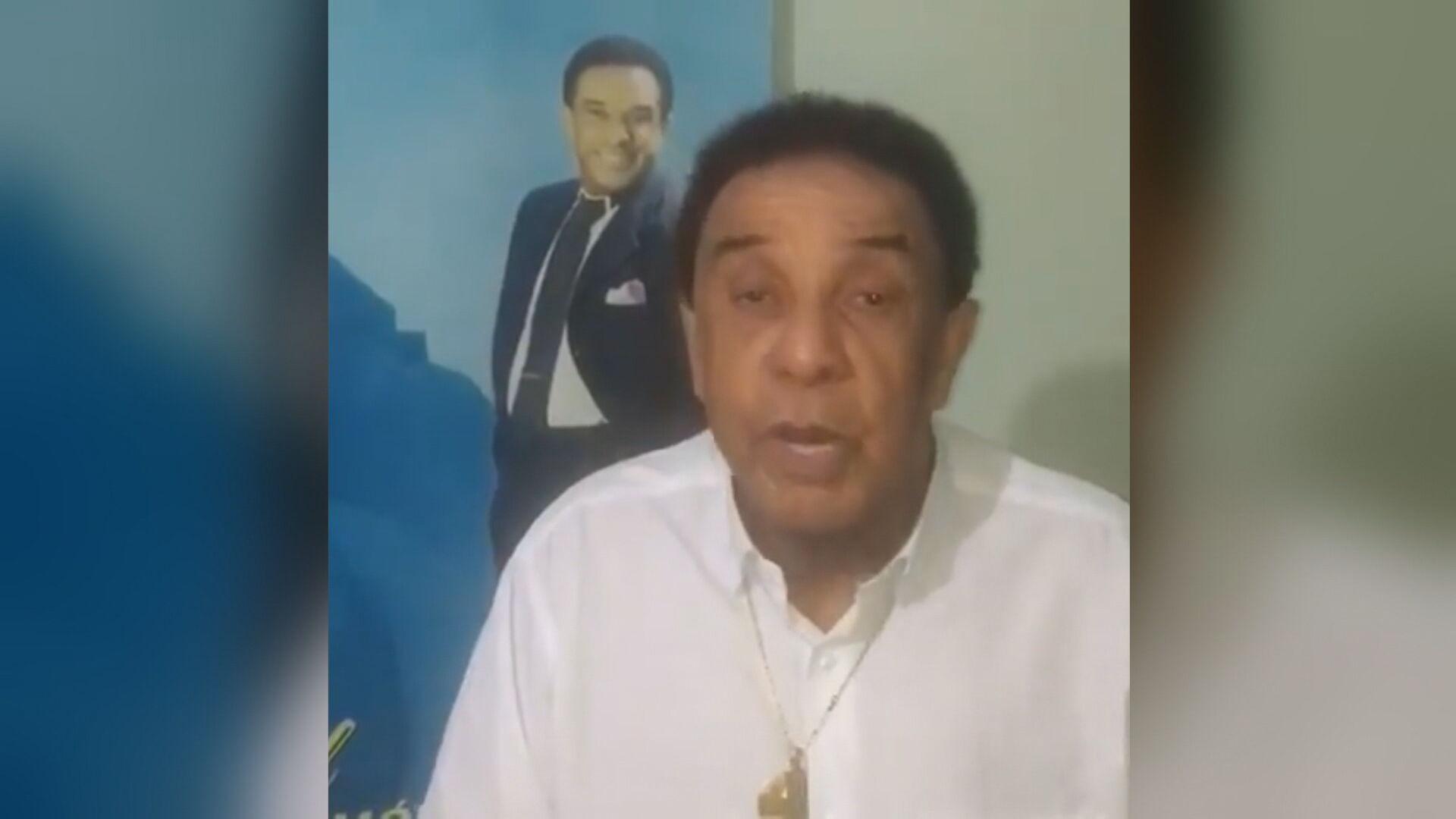 O cantor Agnaldo Timóteo morreu por complicações em decorrência da Covid