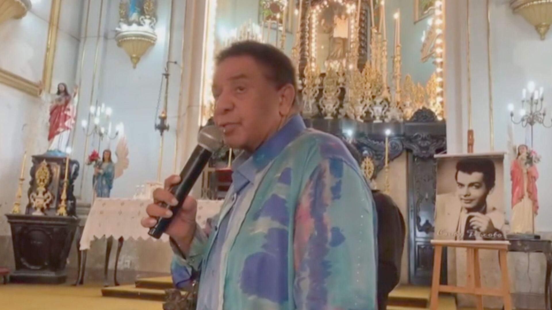 Agnaldo Timóteo morreu na manhã deste sábado (3) aos 84 anos