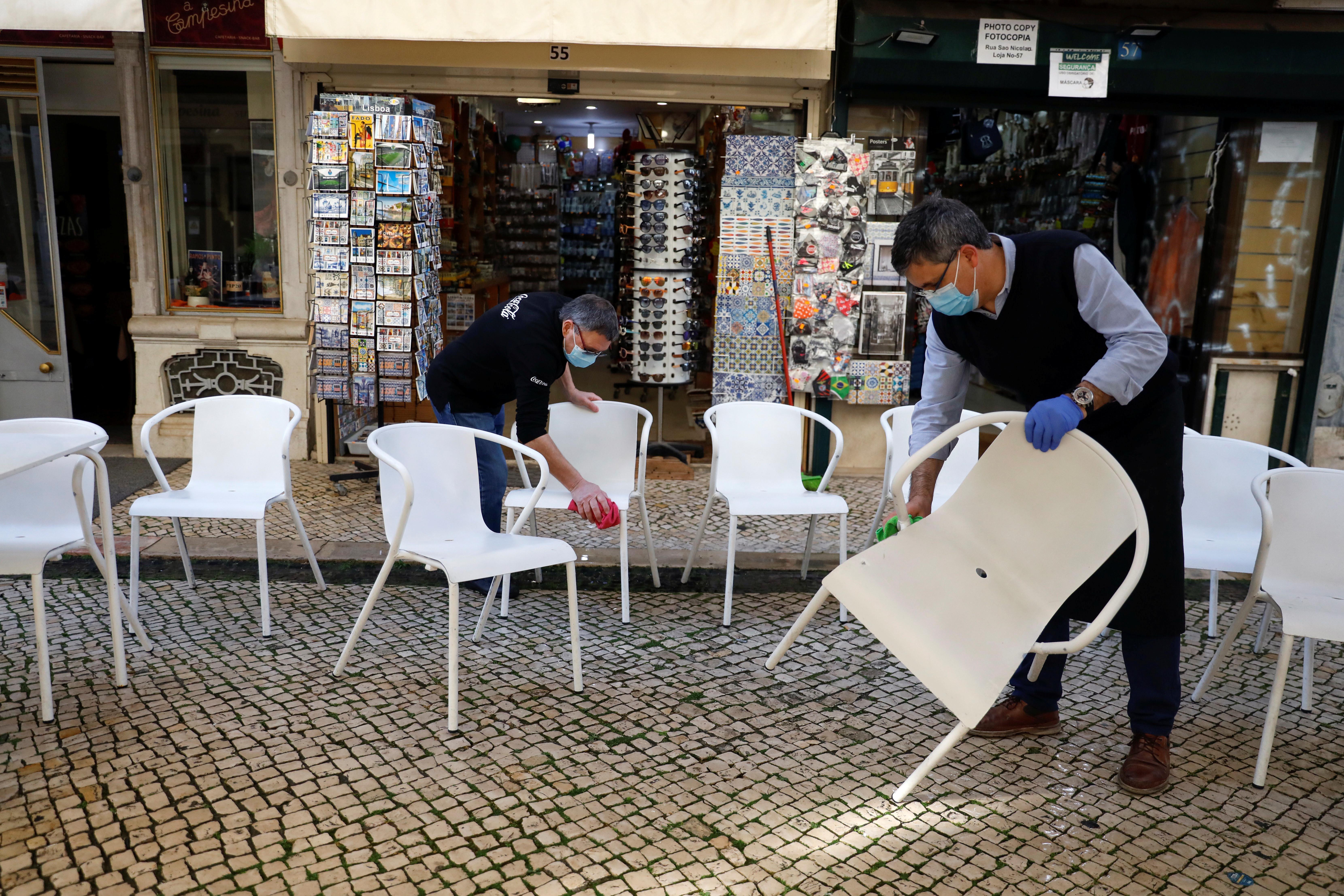 Reabertura em Portugal