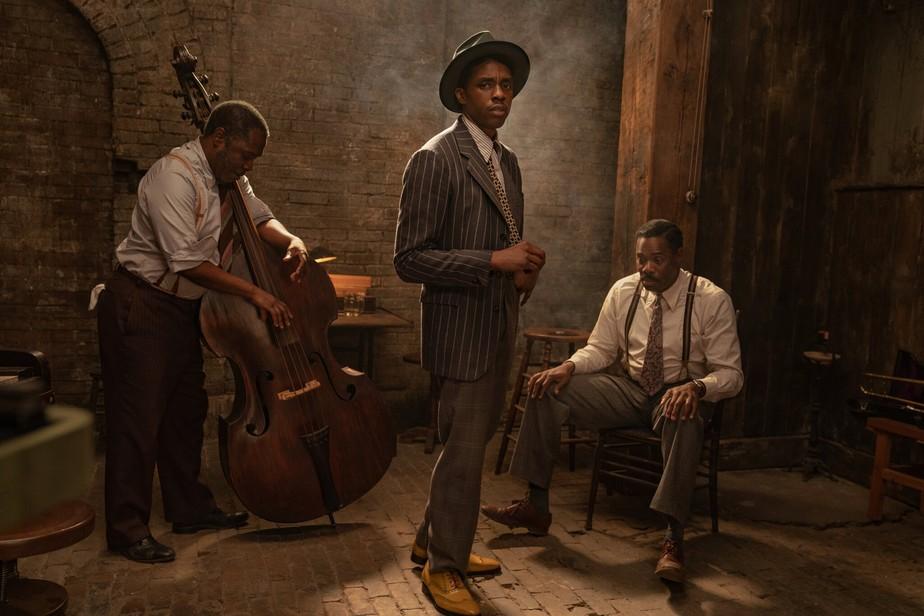 Chadwick Boseman em A Voz Suprema do Blues