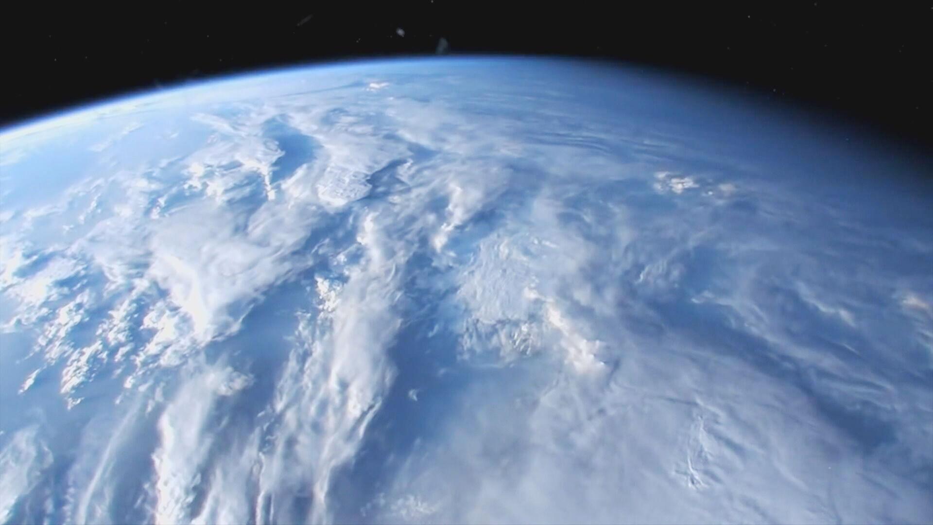 Visão da Terra do espaço (05.abr.2021)