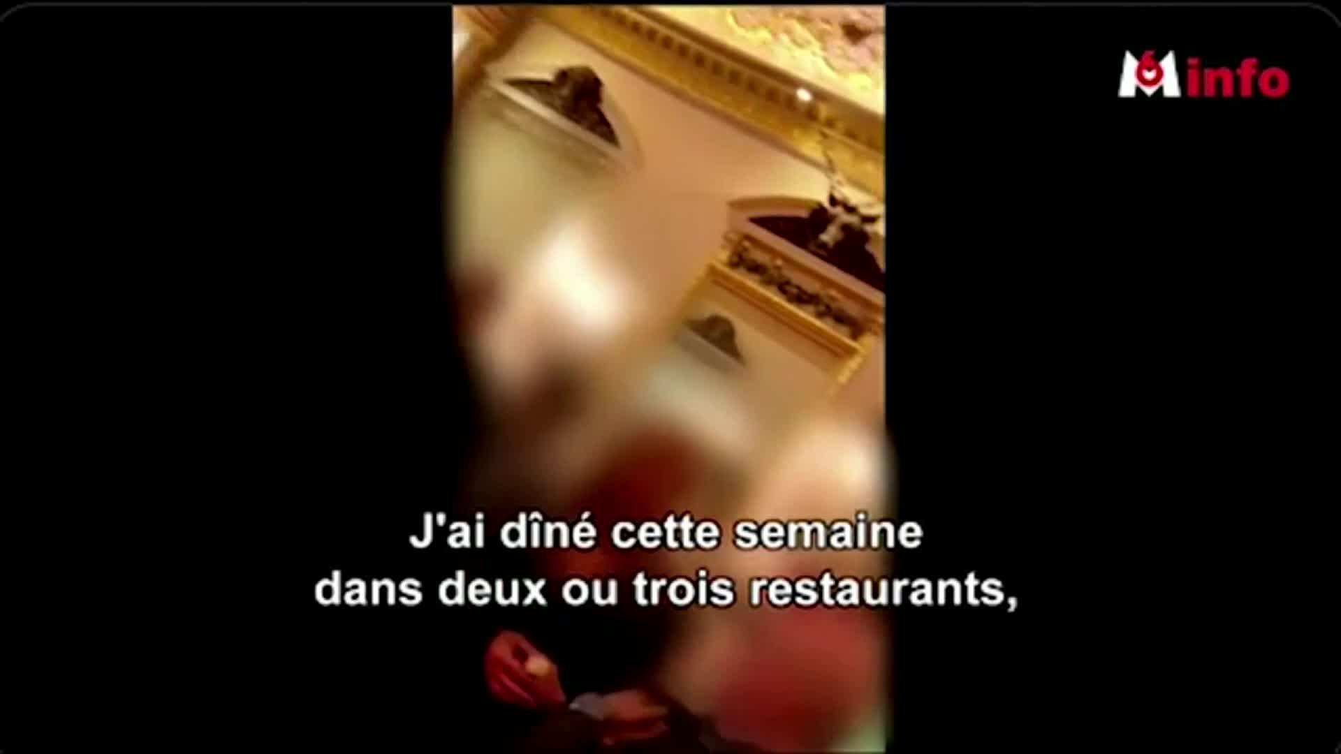 Câmera oculta mostra jantares em restaurantes de luxo de Paris durante lockdown