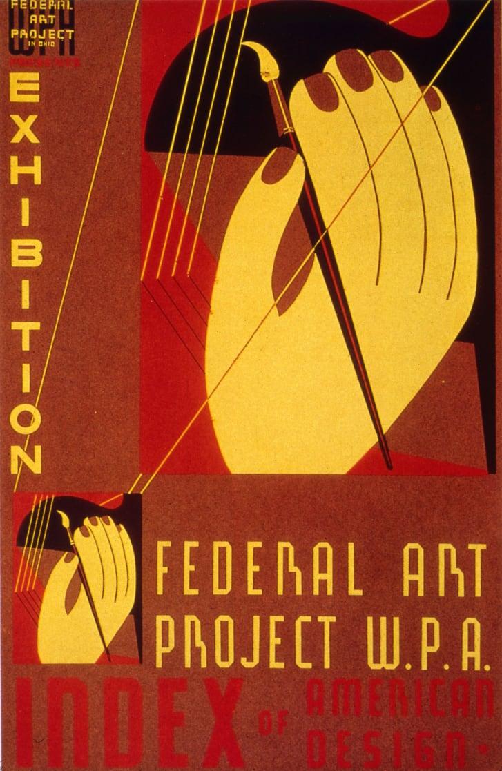 Cartaz do projeto de arte federal WPA