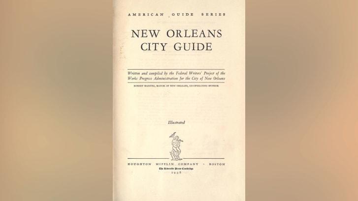 Membros do Federal Writers' Project contribuíram para a série American Guide