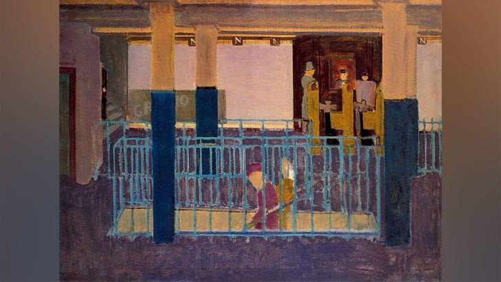 Pintura de Mark Rothko durante seu tempo empregado pela WPA