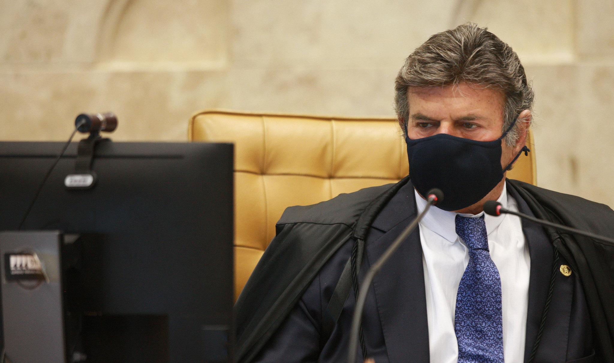 Ministro Luiz Fux preside sessão plenária do STF
