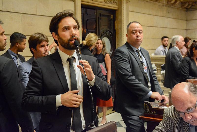 Dr. Jairinho na Câmara do Rio