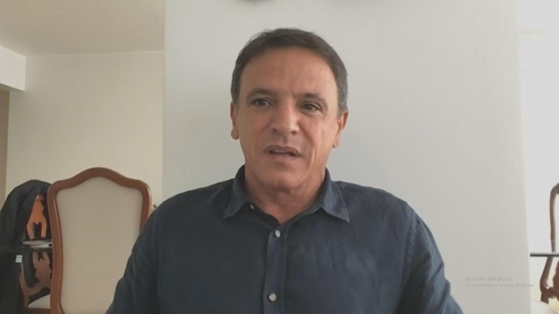 O senador Márcio Bittar (MDB-AC) (08.abr.2021)