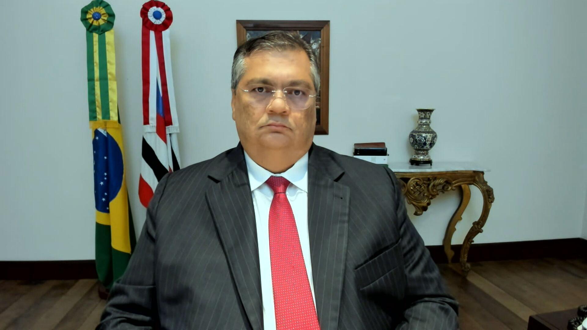 O governador do Maranhão, Flávio Dino (PCdoB) (12.abr.2021)