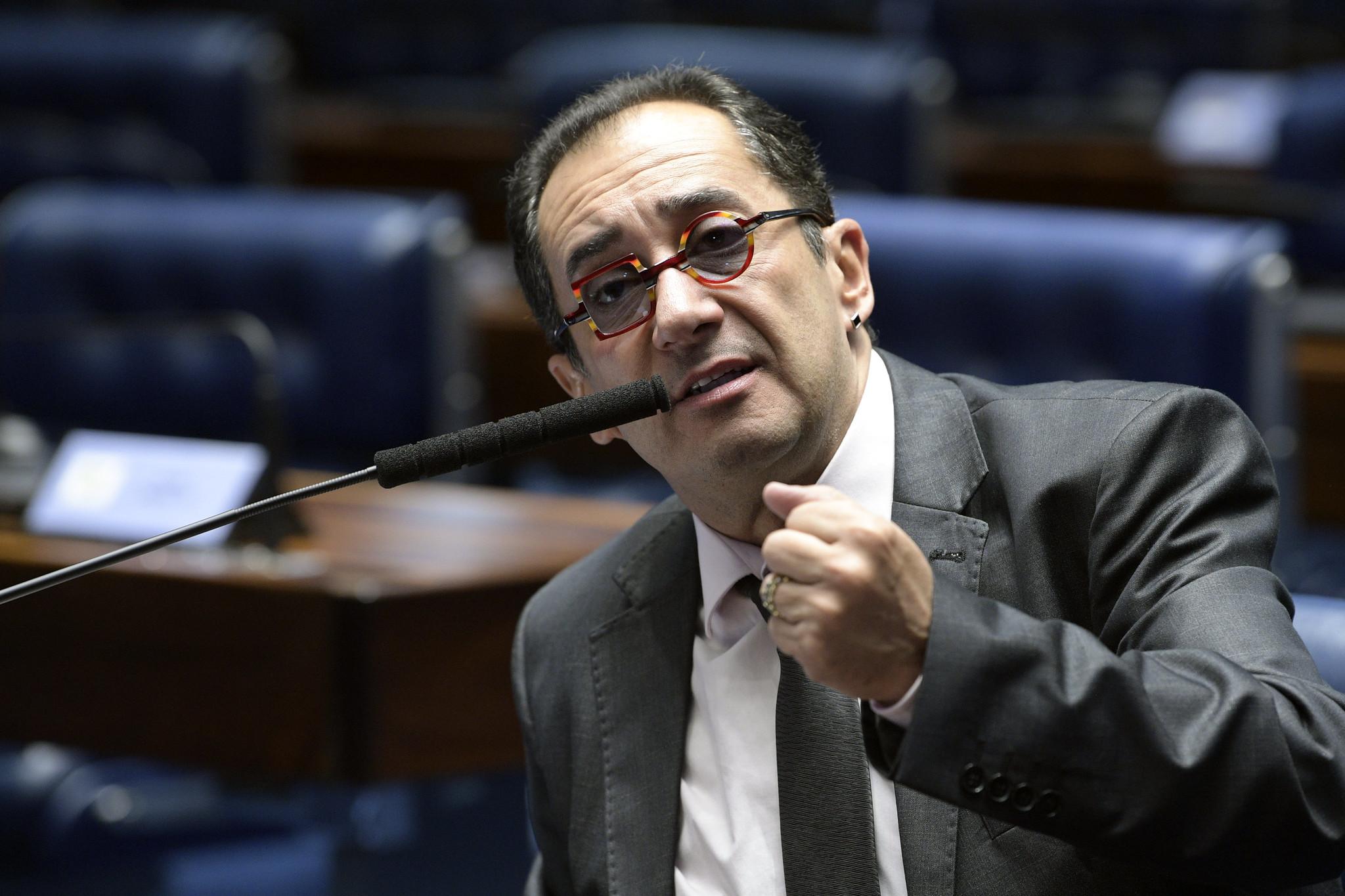 Senador Jorge Kajuru em pronunciamento
