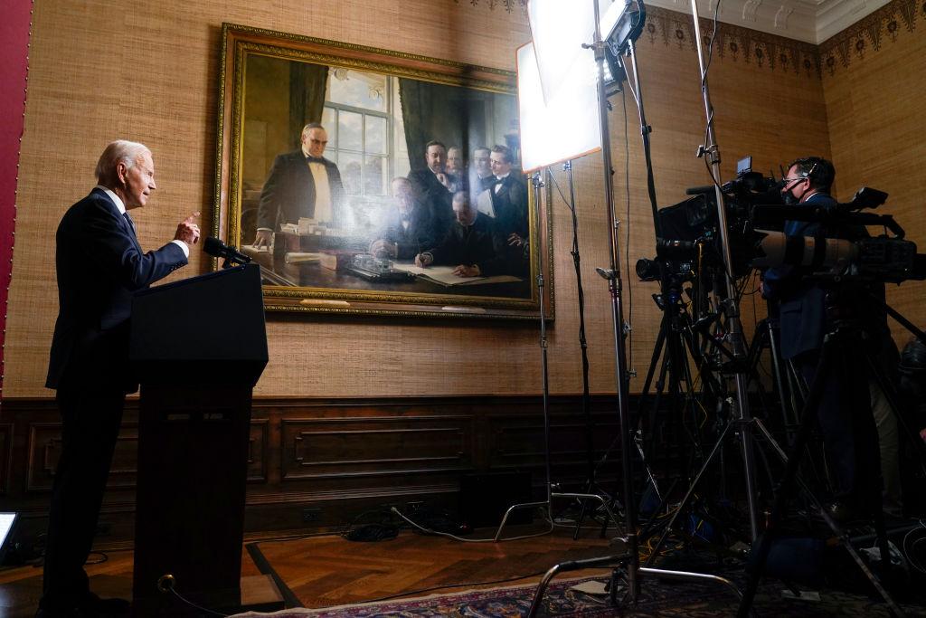 Joe Biden discursa