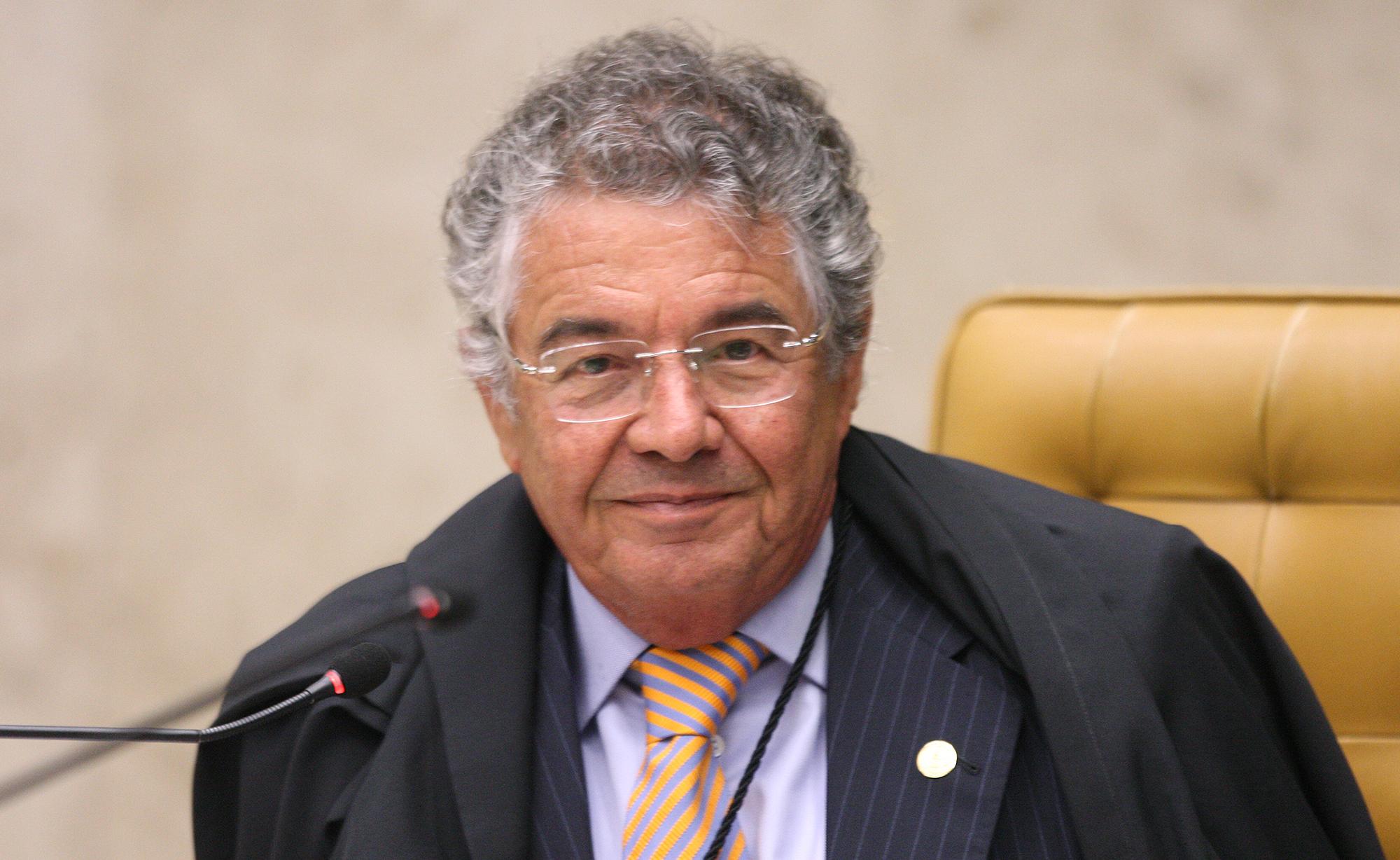 Ministro Marco Aurélio durante sessão do STF em 19.dez.2020
