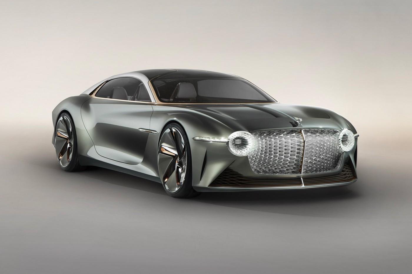 Bentley Electric 100 EXP GT conceito