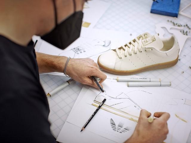 Novo tênis da linha Stan Smith Mylo, da Adidas, e feito de cogumelo