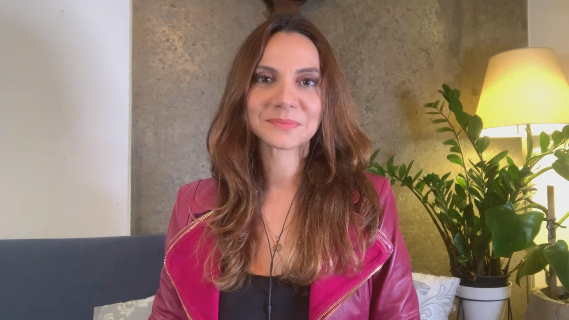 A jornalista e documentarista Flávia Guerra (20.abr.2021)