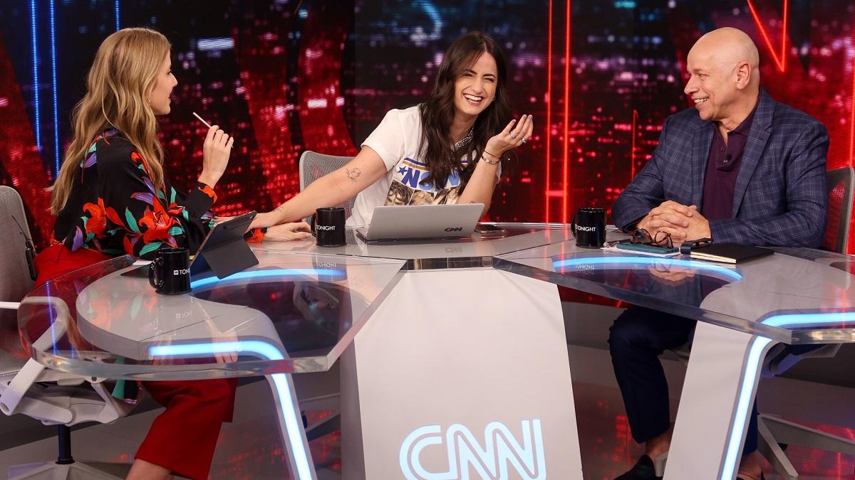 CNN Tonight, talk show apresentado por MariPalma, Gabriela Prioli e Leandro Kar