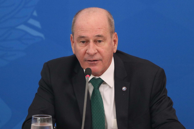 O ministro da Defesa, Fernando Azevedo e Silva