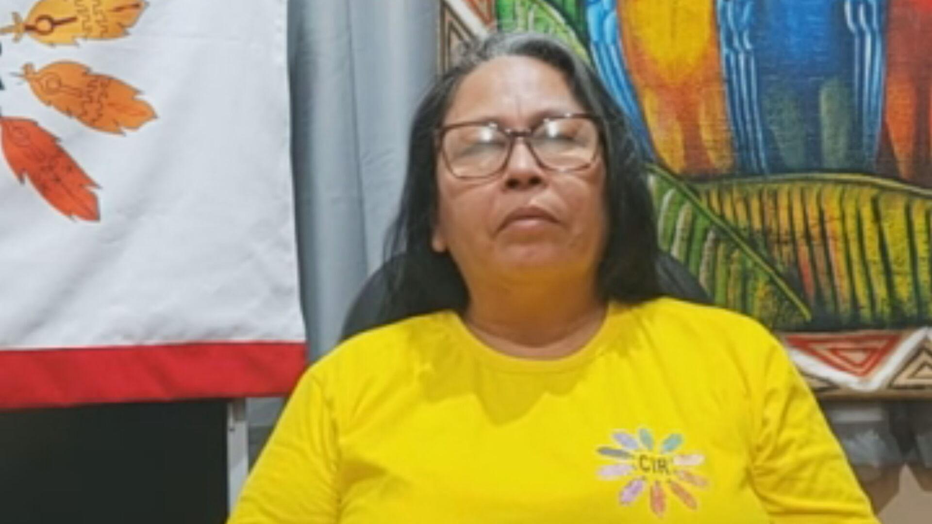 A líder indígena Sinéia do Vale Wapichana conversou com a CNN sobre a Cúpula do