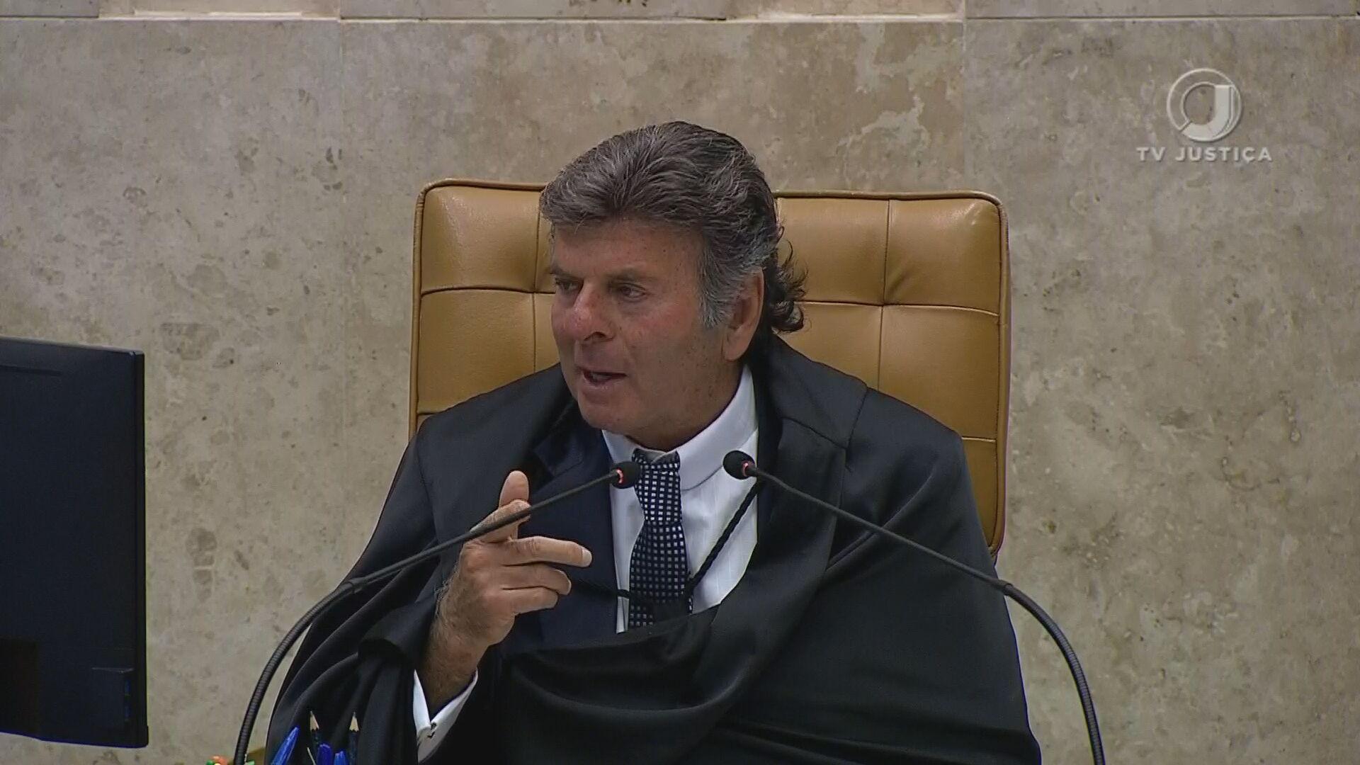 Luiz Fux, presidente do Supremo Tribunal Federal (STF)