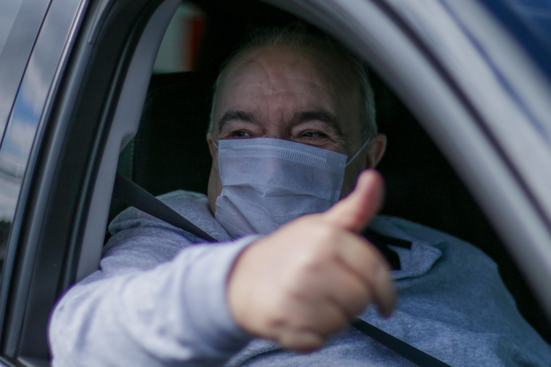 Rafael Greca deixa hospital