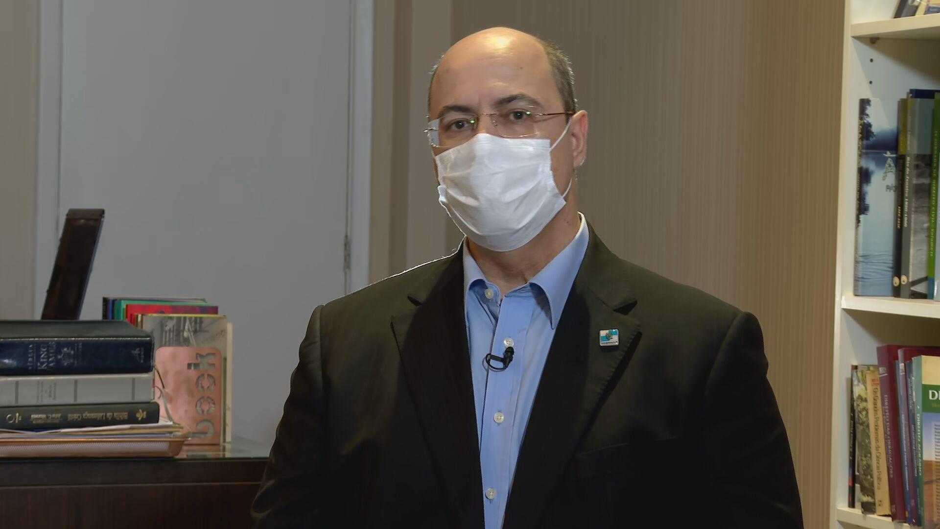 Wilson Witzel (PSC-RJ), governador afastado do Rio de Janeiro (23.abr.2021)