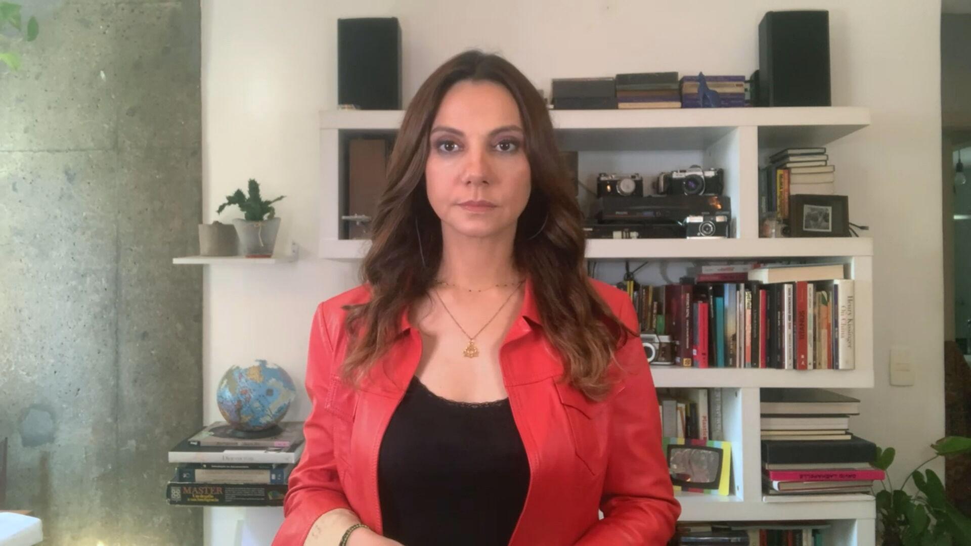 Jornalista e documentarista Flávia Guerra