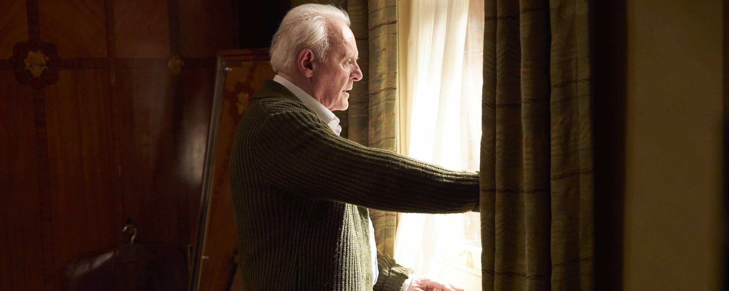 """Anthony Hopkins em cena do filme """"Meu Pai"""""""