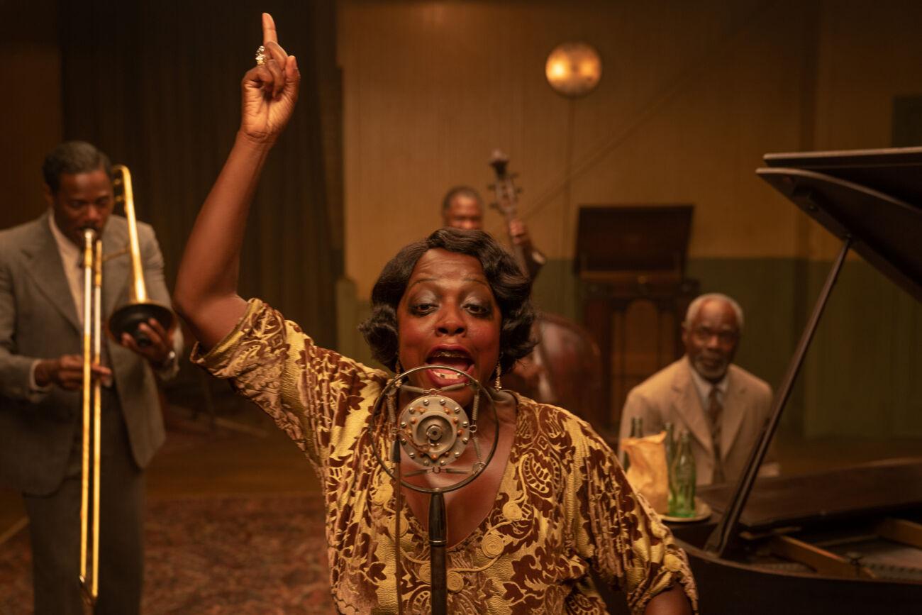Viola Davies em 'A Voz Suprema do Blues'