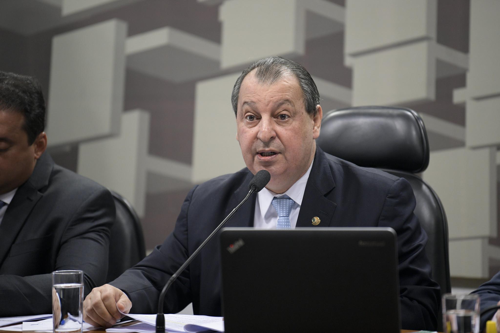 O senador Omar Aziz (PSD-AM)
