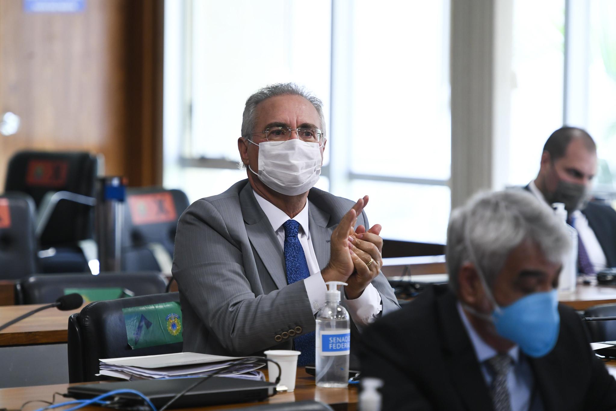 O senador Renan Calheiros (MDB-AL) foi escolhido relator da CPI da Covid