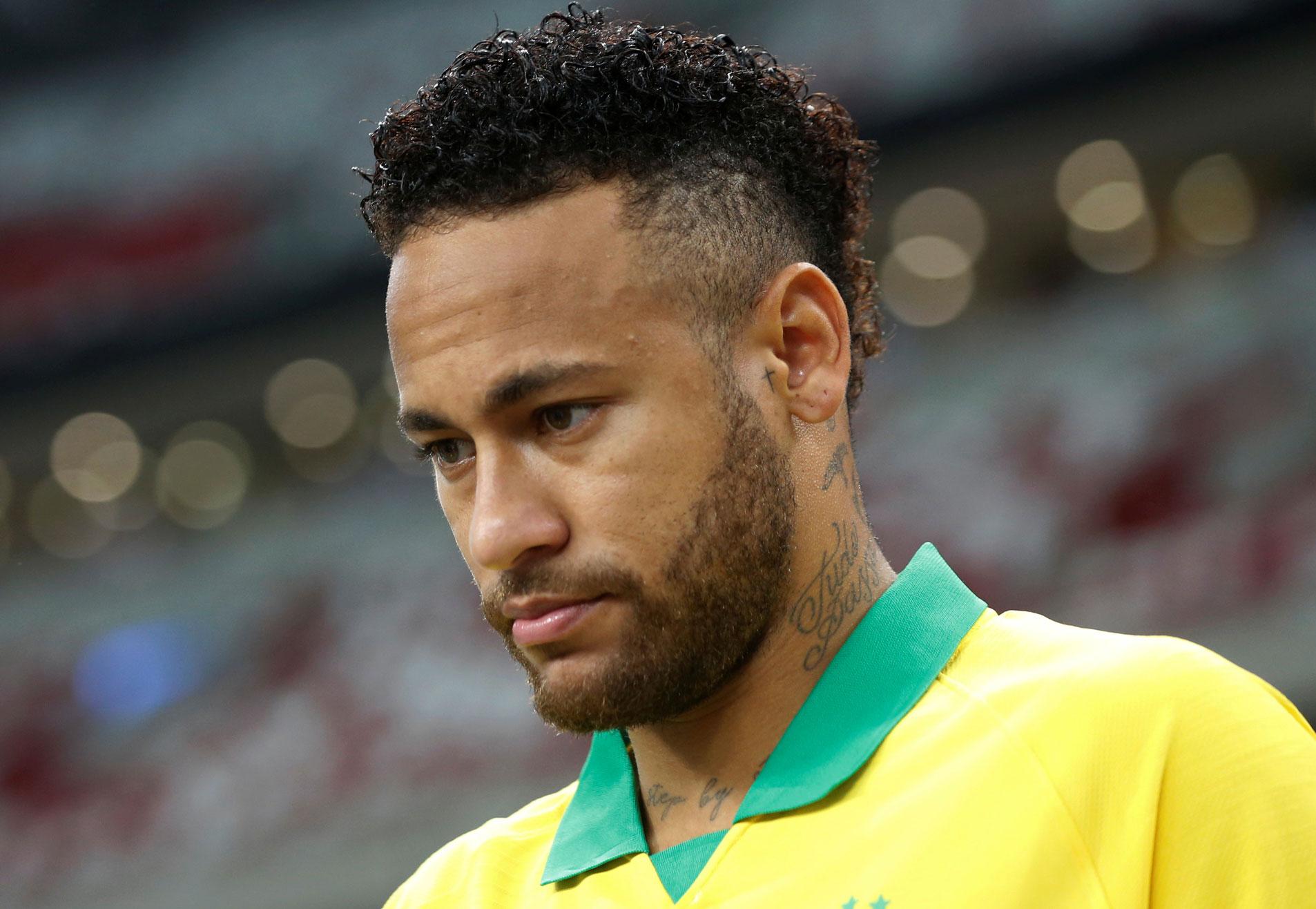 O jogador de futebol Neymar Jr.