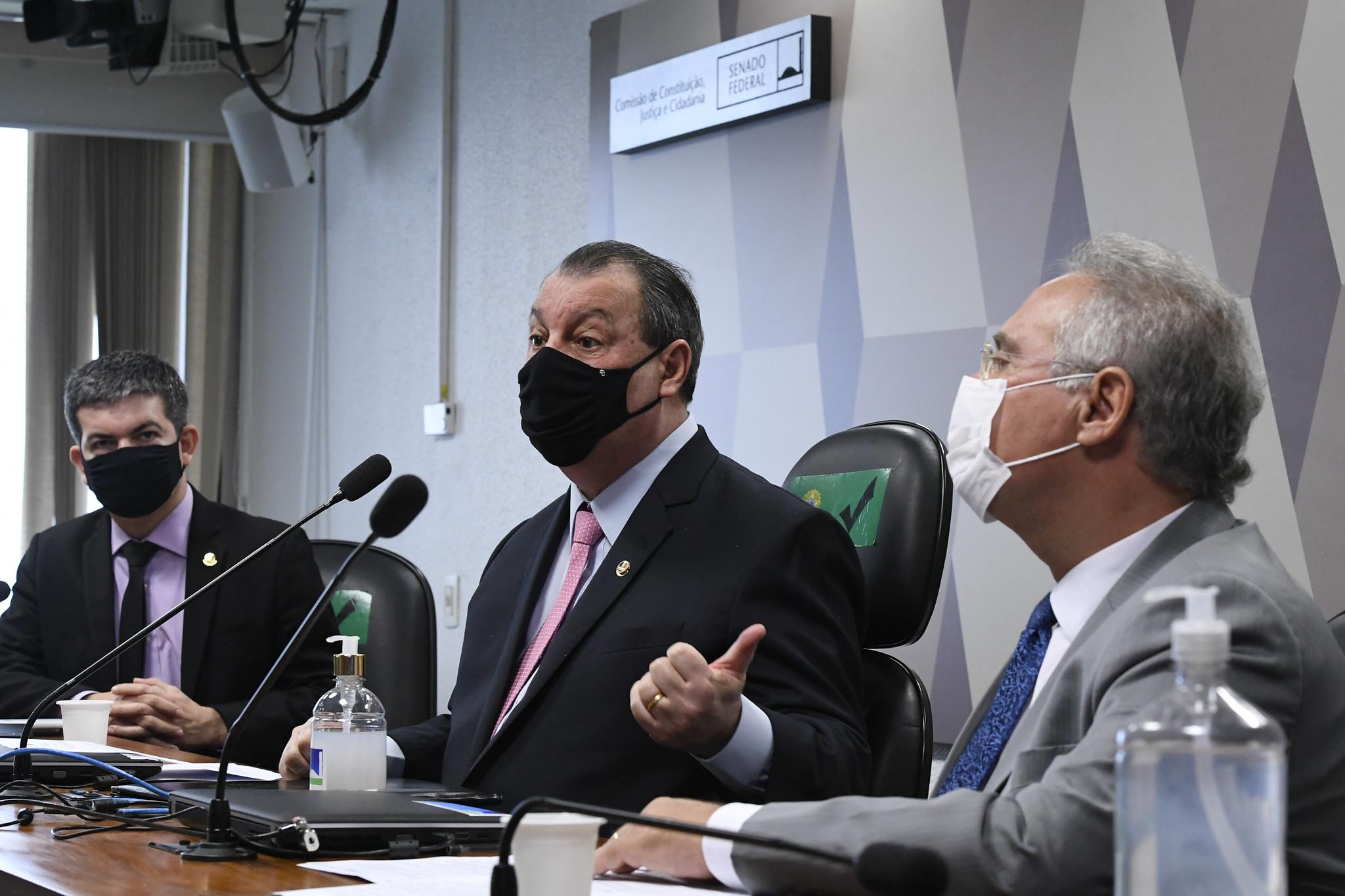 Omar Aziz (PSD-AM) marcou próxima sessão da CPI da Covid para quinta-feira (29)
